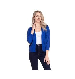 Cielo Nicki- Bolero Cardigan in Royal Blue