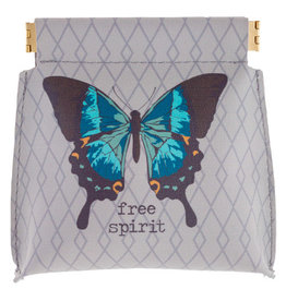 Karma Butterfly Coin Purse