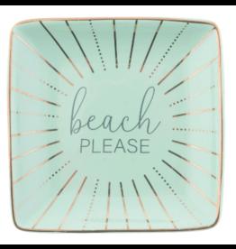 Karma Trinket Tray Beach Please