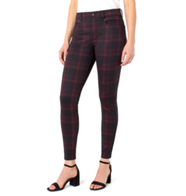 Liverpool Gia Glider Red/Black Tartan