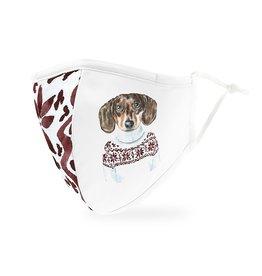 WeddingStar Holiday Mask Festive Dog