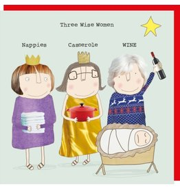 Rosie Made a Thing Card- Three Wise Women