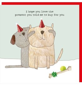 Rosie Made a Thing Card- Told Me To Buy