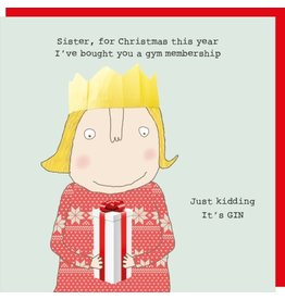 Rosie Made a Thing Cards-Rosie-Xmas  Sister Xmas