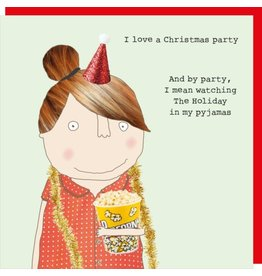 Rosie Made a Thing Cards-Rosie-Xmas  Pyjama Party