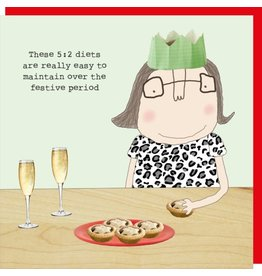 Rosie Made a Thing Cards-Rosie-Xmas  Festive Diet