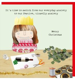 Rosie Made a Thing Cards-Rosie-Xmas  Festive Anxiety