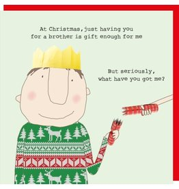 Rosie Made a Thing Cards-Rosie-Xmas  Brother Xmas