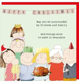 Rosie Made a Thing Cards-Rosie-Xmas  Bearable