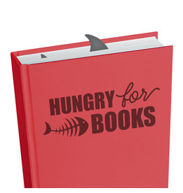 Legami Hungry For Books Shark Bookmark
