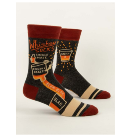 Blue Q Men's Socks-Whiskey