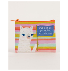 Blue Q Coin Purse-I've Got It Going On