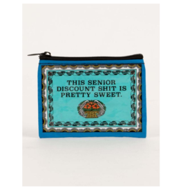 Blue Q Coin Purse-Senior Discount