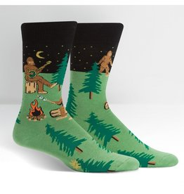 Sock it to me Men's Crew - Sasquatch Camp Out