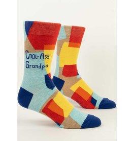 Blue Q Men's Socks- Cool Grandpa