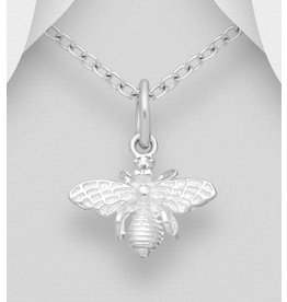 Sterling Necklace- Bumble Bee