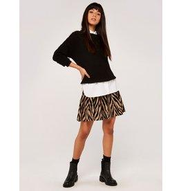 Apricot Zebra Rara Skirt