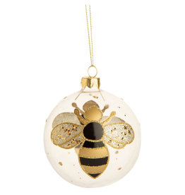 Option 2/ Silver Tree Ornament- Bumble Bee Ball