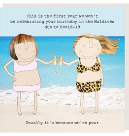 Rosie Made a Thing Card- Maldives