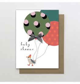 Stop The Clock Design Card-Baby Shower