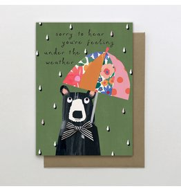 Stop The Clock Design Card-Under the Weather