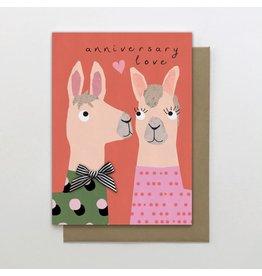 Stop The Clock Design Card-Anniversary Love