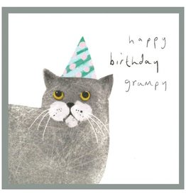 Cinnamon Aitch Card-Happy Birthday Grumpy