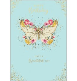 Abacus Card Ltd. Card-Happy Birthday Butterfly
