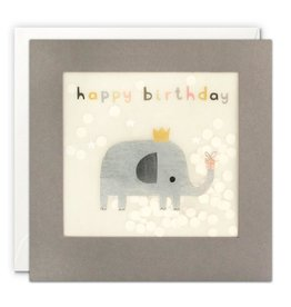 James Ellis Card-Bday Elephant