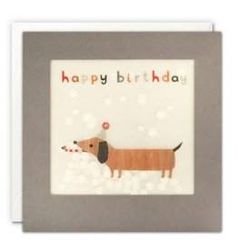 James Ellis Card-Bday Weiner Dog