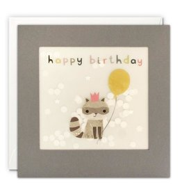 James Ellis Card-Bday Racoon