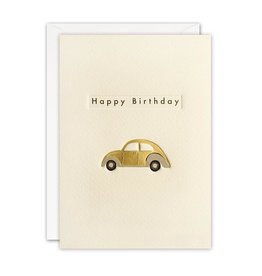 James Ellis Card-Happy Birthday Beetle Car