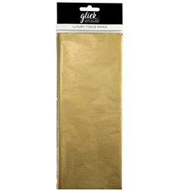 Glick Tissue-Metallic Gold