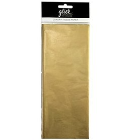 Glick Tissue-Plain Gold