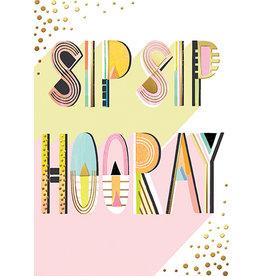 Card-Sip Sip Hooray