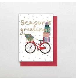 Stop The Clock Design Card-Season's Greeting