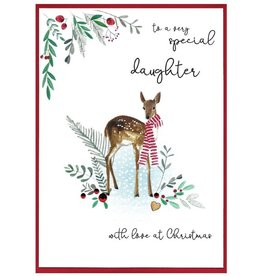 Cinnamon Aitch Card-Special Daughter at Christmas