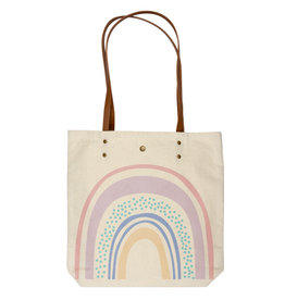 Karma Canvas Book Bag Rainbow