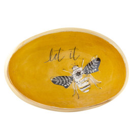 Karma Enamel Trinket Bowl Bee