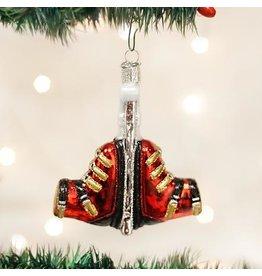 Old World Christmas Ski Boots Ornament