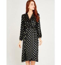 Apricot Dress-Sofia Wrap Dress