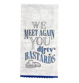 Karma Tea Towel-Dirty Bastards
