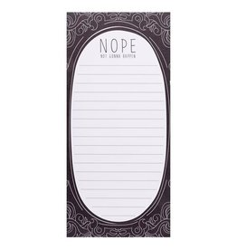 Wit Magnetic Notepad-Not Gonna Happen