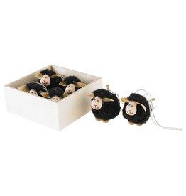 Option 2/ Silver Tree Black Sheep Ornaments
