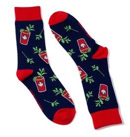 Main and Local Canadian Caesar Socks