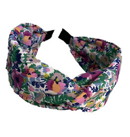 E&S Accessories Criss Cross Floral Headband