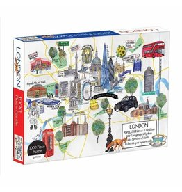 Galison Puzzle-London Map