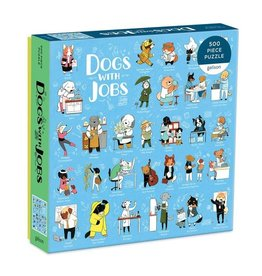 Galison Puzzle-Dogs With Jobs