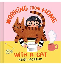 Raincoast Books Book- Working From Home With A Cat
