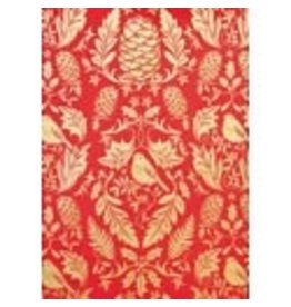 Love Vivid Xmas Roll Wrap-Red Ruskin (Cotton)